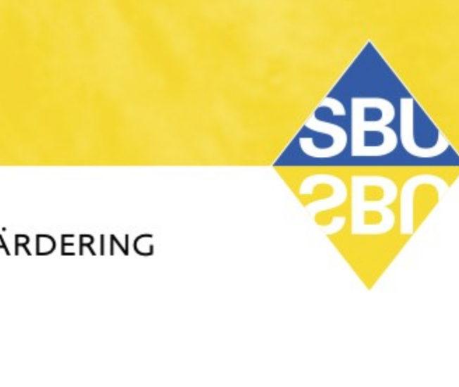 Detalj ur omslaget till SBU:s rapport