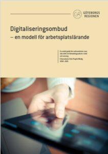 Omslag till rapporten om digitalisering